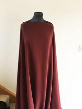 Scuba Crepe Jersey Dressmaking Fabric Beaujolais  Good Quality Heavy Drape