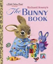 Little Golden Book: The Bunny Book by Patricia M. & Richard Scarry NEW Hardcover