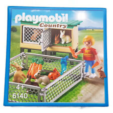 Playmobil Country Rabbit Pen with Hutch 6140 Criadero Conejos Hasenstall lapins