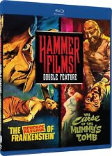 Hammer Films Double Feature: Revenge of Frankenstein / Curse of the Mummy's Tomb