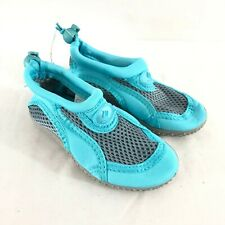 Fantiny Toddler Boys Girls Water Shoes Fabric Drawstring Blue Size 24 US 8