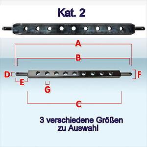 Ackerschiene Kat. II KAT 2 800 ? 900 ? 960 mm Acker-Schiene Traktor Auswahl Neu