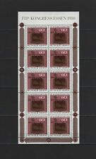ALLEMAGNE RFA feuillet neuf Journée du timbre 1980