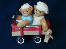 Cherished Teddies - Booker And Fletcher - Two Boys on Radio Flyer - 786861 -2000