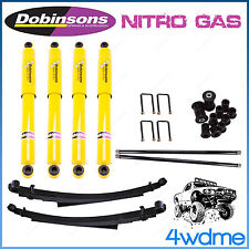 "Nissan Navara D21 D22 4WD Dobinsons Shocks + Torsion Bar + Leaf Spring 2"" Lift"