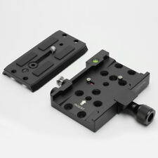 Dovetail QR Quick Release Plate Base fr Dolly Support Camera Cage Rig Tripod