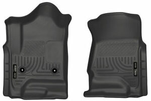 HUSKY WeatherBeater Floor Mats for Chevy Silverado GMC Sierra 4 Door CC EC 18231