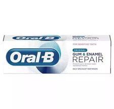 3x Oral B Gum & Enamel Repair Original Toothpaste 75ml