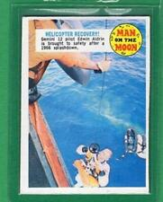 1969 Topps Man On The Moon Card #43B Helicopter Recovery