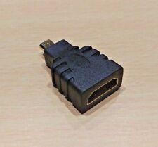 HDMI vers Micro HDMI Adaptateur - (HDMI type A femelle vers HDMI Type D mâle) V1.4 3D
