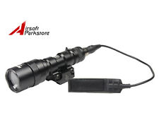 Tactical M300 Mini 200 Lumens LED AA Flashlight Scout Light EX399 Torch Black