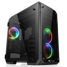 NEW! Thermaltake View 71 Tempered Glass Rgb Edition Full Tower 2 X Usb 3.0 / 2 X