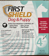 First Shield Dog And Puppy Flea Control - 11-20 Lbs