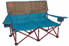 Kelty Low-Love Seat Camping Chair Deep Lake/Fallen Rock - Portable Folding Ch...