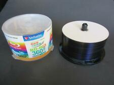(46 pack) Verbatim Mitsubishi BD-R DL Dual Layer 50 GB 4X Blu-Ray Disc Inkjet