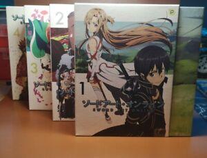 Sword Art Online Staffel 1 / Vol. 1-4 Komplett mit Zubehör [DVD] Folgen 1-25