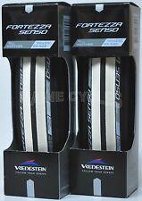 Vredestein Fortezza Senso all weather clincher 700 x 23 white / black 2 tires