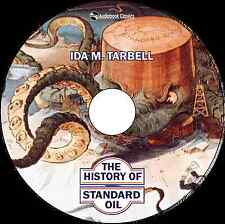The History of the Standard Oil Company - MP3 CD Audiobook in paper sleeve