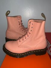 Dr. Martens 1460 Women's Smooth Leather Boots Size US 5- Salmon pink -  New
