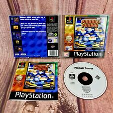 Pinball Power Sony Playstation 1 PS1 medieval pinball action Arcade video Game