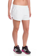 Soffe Juniors Athletic Short White Small Elastic Waist EUC Polyester/cotton
