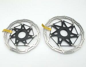 Pair (2) SRAM CLX Disc Rotor 160mm  & 180mm Centerline X Center Lock - PAIR (2)