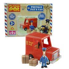 Postman Pat's Van Inc 2 x Parcels Small Free Wheeling Van Opening Doors Toy NEW