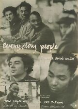 7/7/90 Pgn33 Advert: i Guess It Doesnt Matter From Everyday People 15x11 FRAMED