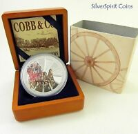 2004 $1 COBB & CO  Silver Proof Coin