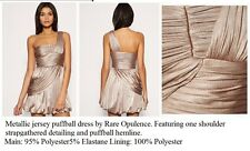 Rare opulance grecian dress metallic gold/ beige NWT limited edition..topshop