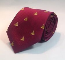 Past Master WITH Square Woven Necktie - Maroon (PMWS-NT-M)
