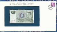 Banknotes of All Nations Sweden 10 Kronor 1979 serie R P-52d UNC BIRTHDAY 1926 *