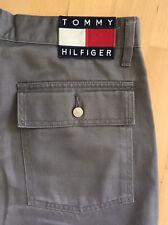 Tommy Jeans Hose Gr. W32 L32 Vintage Hilfiger HipHop Herren Cargohose Baggy 90s