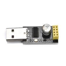 New Pro ESP01 Programmer Adapter UART GPIO0 ESP-01 Adaptateur ESP8266 USB