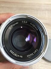 Hasselblad C Carl Zeiss S-Planar 120mm f/5.6 Chrome Lens