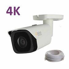 Q-See 4K (8 MP) Camera IP Ultra-HD with H.265, QCN8090B