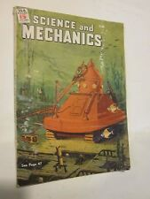 1944 Science and Mechanics magazine August issue Submersible Tank on cover