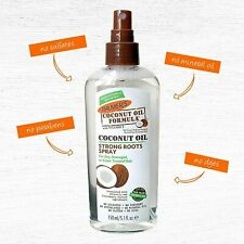 Palmers Coconut Oil Strong Roots Moisturise Hair Scalp Parabens Free Spray 150ml