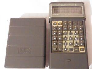 Vintage 80s Psion Organiser II Model XP Handheld computer WORKING unit UK Made