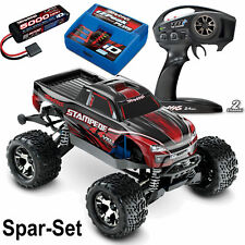 TRAXXAS Stampede VXL rot RTR 4WD Monster Truck BL +  2S 5000 mAh Akku +Lader