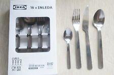 IKEA Inleda 16 Piece Stainless Steel Cutlery Set Kitchen Essentials Dinning Set