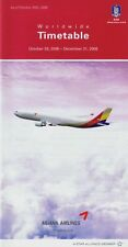 Asiana Airlines Timetable  October 29, 2006 =