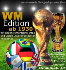 WM Edition: 15 Bildbände (14x Weltmeisterschaft/1x EM) + Fifa World Cup Key-Ring
