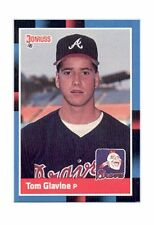 1988 Donruss Tom Glavine Atlanta Braves #644 Baseball Card HOF