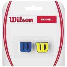 WILSON PRO FEEL SHOCK ABSORBER, PING-VIBRATEURS 2 PACK BLEU ET JAUNE
