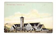 AR - LITTLE ROCK ARKANSAS Postcard NEW UNION TRAIN RAILROAD STATION