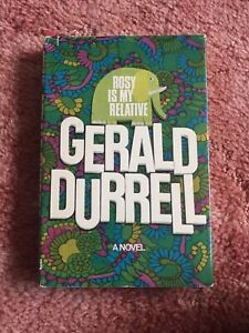 Ross Is My Relative By Gerrald Durrell A Novel Published 1969 Hardback Dustsheet