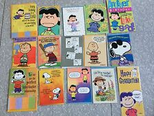 Lot of 45 Hallmark Peanuts Greeting Cards (B-day/V-Day/Easter/Xmas/Halloween)