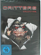 Critters Collection Sammlung Teil 1, 2, 3, 4 - Horror Kult - Leonardo DiCaprio