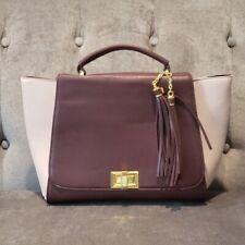 Adrienne Vittadini Womens Mauve Handbag Purse